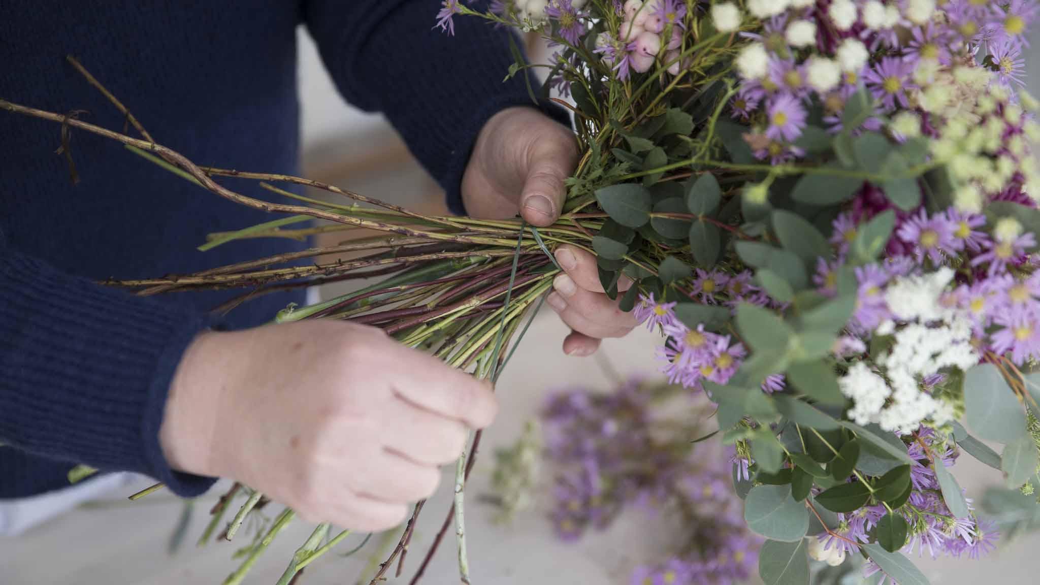 Teamevent-Blumen binden-Bild6