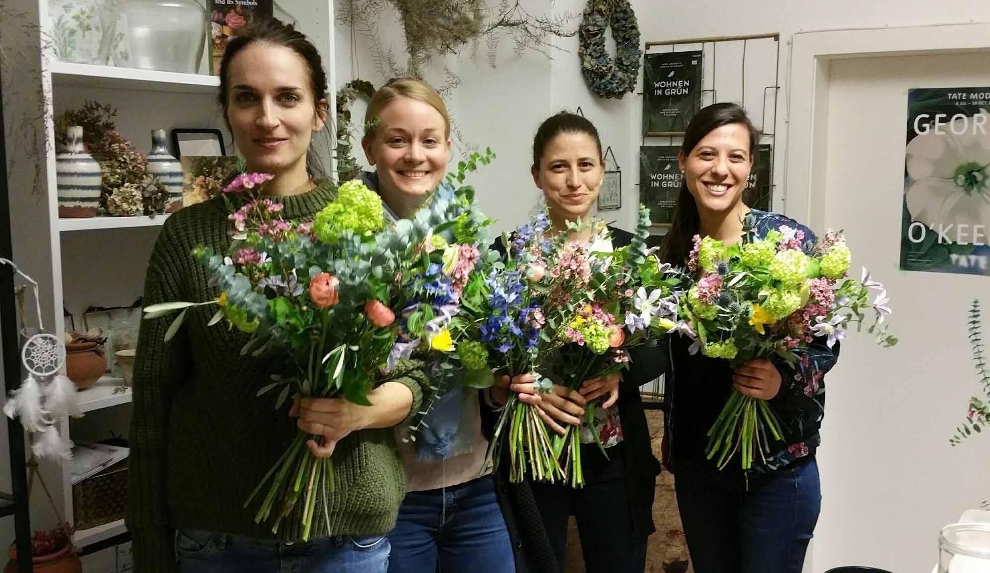 Teamevent-Blumen binden-Bild8