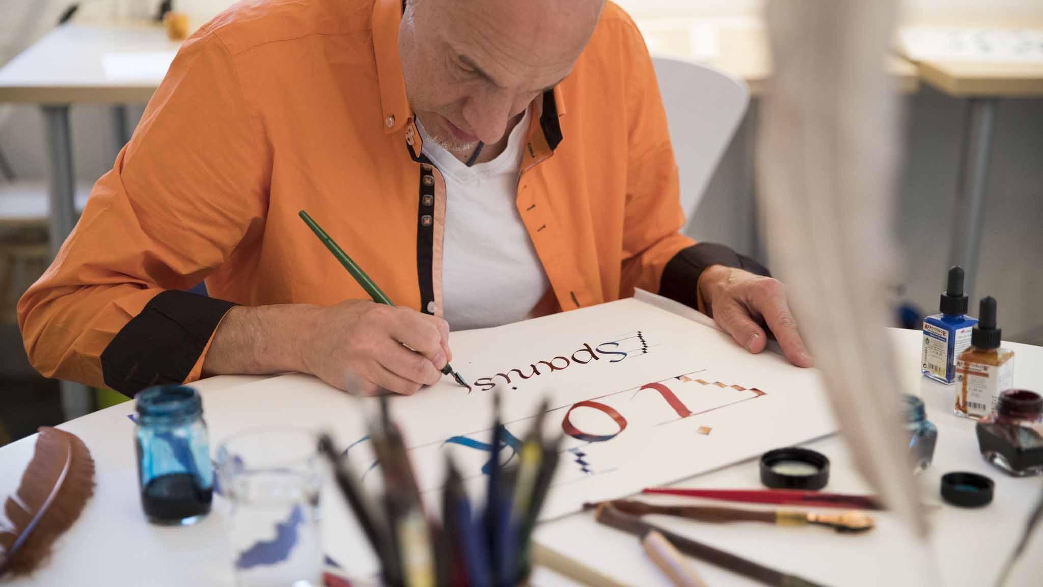 Teamevent-Kalligraphie&Handlettering-Bild3
