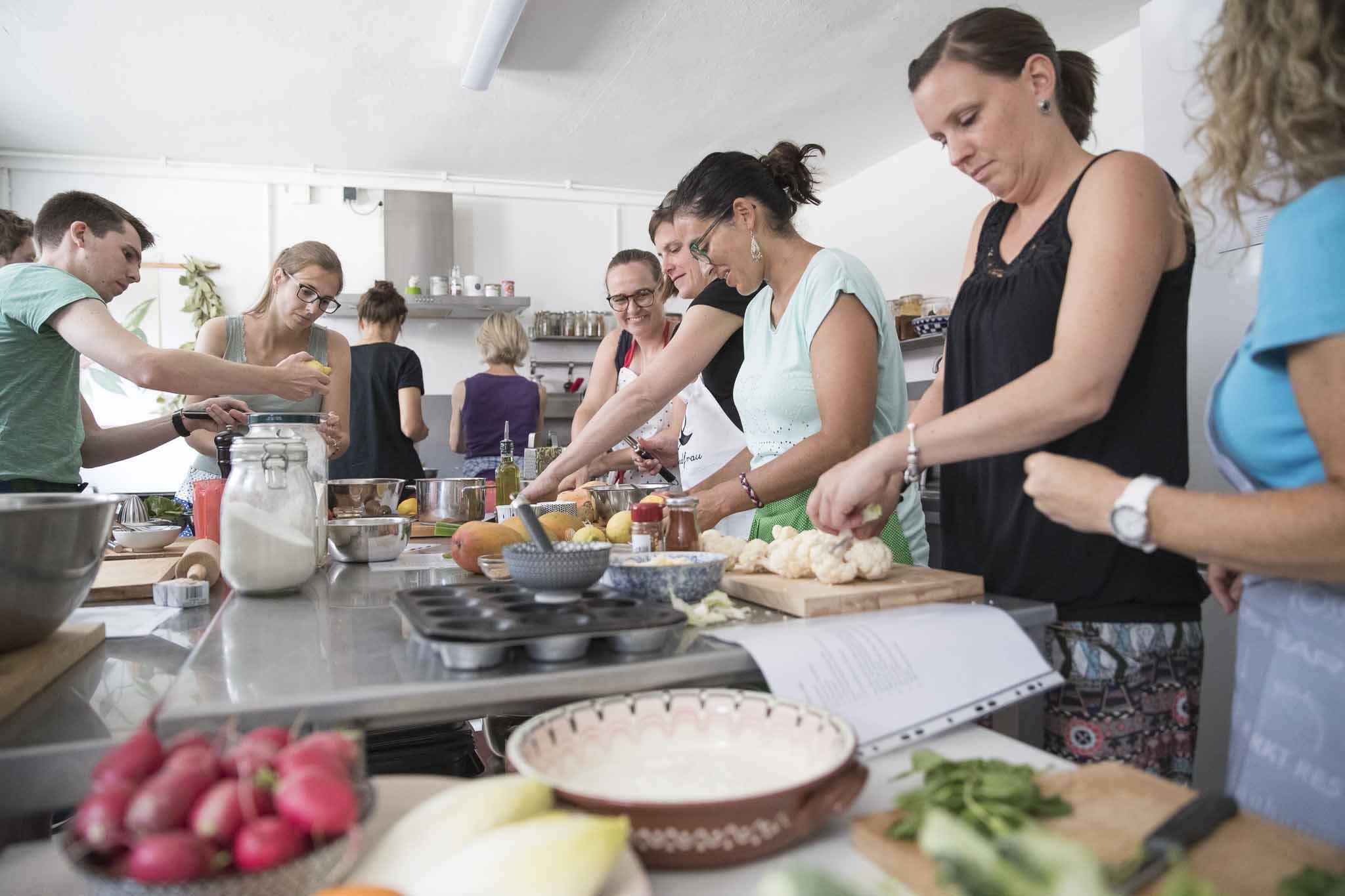 Teamevent-Kochen Bild1