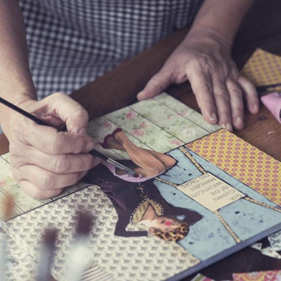 Teamevent Art-Collagen erstellen